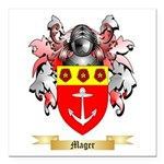 Mager Square Car Magnet 3