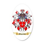 Mageown Oval Car Magnet