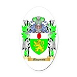 Magennis Oval Car Magnet
