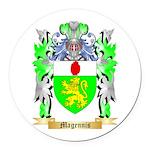 Magennis Round Car Magnet