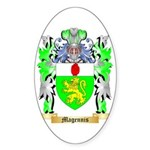 Magennis Sticker (Oval 50 pk)