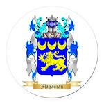 Magauran Round Car Magnet