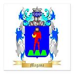 Magana Square Car Magnet 3