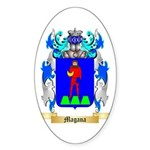 Magana Sticker (Oval 10 pk)