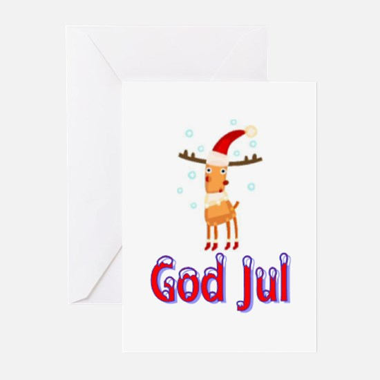 Unique Norwegian christmas Greeting Cards (Pk of 20)