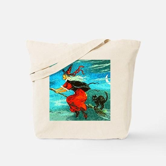 Unique Witch broom Tote Bag