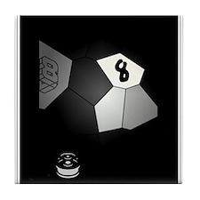 8 Ball Illusion 3D Tile Coaster