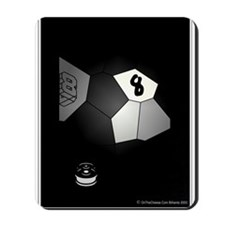 8 Ball Illusion 3D Mousepad