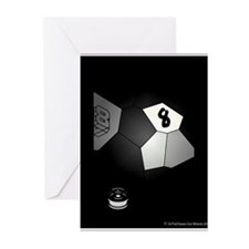 8 Ball Illusion 3D Greeting Cards (Pk of 10)