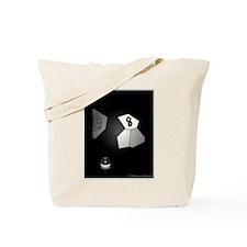 8 Ball Illusion 3D Tote Bag