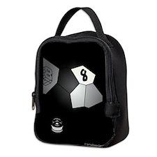 8 Ball Illusion 3D Neoprene Lunch Bag