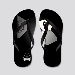 8-Ball Illusion Flip Flops