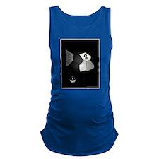 8 Ball Illusion 3D Maternity Tank Top