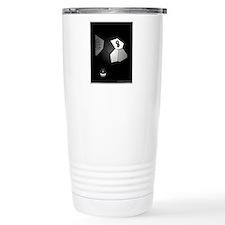 8 Ball Illusion 3D Stainless Steel Travel Mug