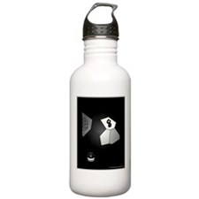 8 Ball Illusion 3D Stainless Water Bottle 1.0L