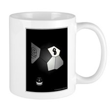 8 Ball Illusion 3D Mug