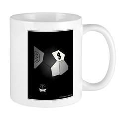 8 Ball Illusion 3D Mug