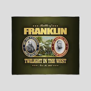Battle of Franklin (FH2) Throw Blanket