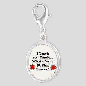 1st. Grade Teacher Charms