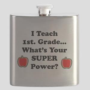 1st. Grade Teacher Flask