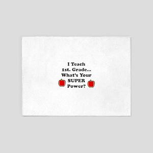 1st. Grade Teacher 5'x7'Area Rug
