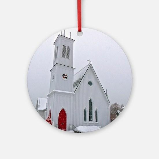 St. Paul's Episcopal Church Round Ornament