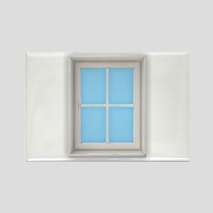 Window Blue Magnets