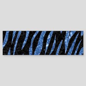 SKIN3 BLACK MARBLE & BLUE MARBLE Sticker (Bumper)