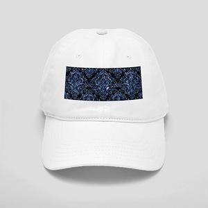 DAMASK1 BLACK MARBLE & BLUE MARBLE Cap