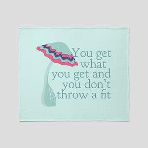 Cute PreK Quote Throw Blanket