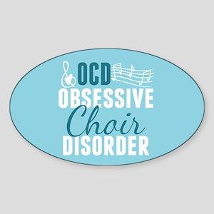 Cute Choir Sticker (Oval)