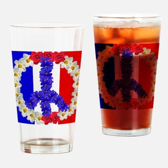Unique Bastille day Drinking Glass