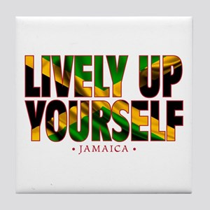 Lively Up Yourself - Tile Coaster