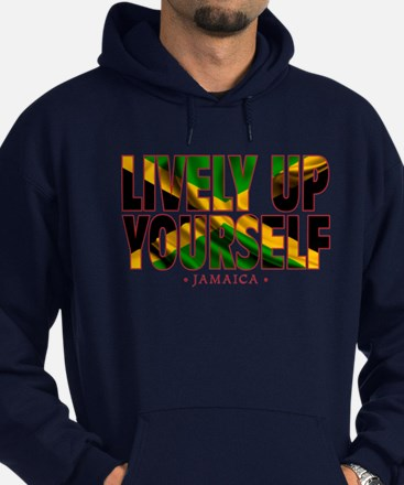 Lively Up Yourself - Hoodie (dark)