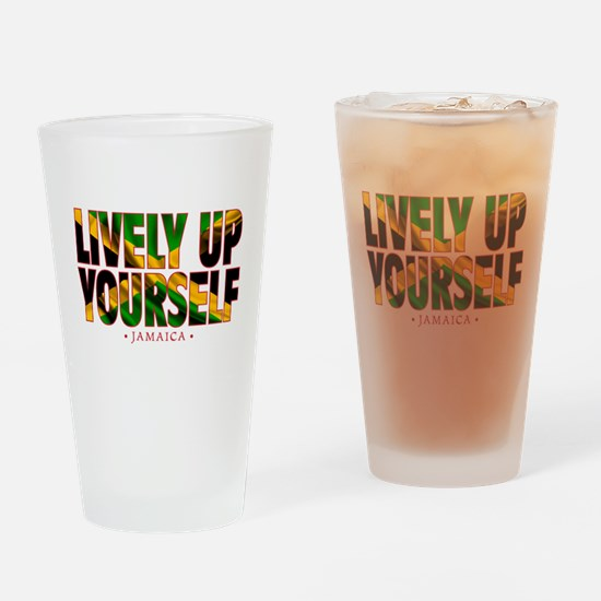 Lively Up Yourself - Drinking Glass