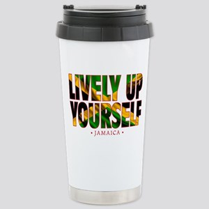 Lively Up Yourself - Stainless Steel Travel Mug