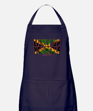 Lively Up Yourself - Apron (dark)