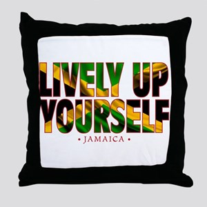 Lively Up Yourself - Throw Pillow