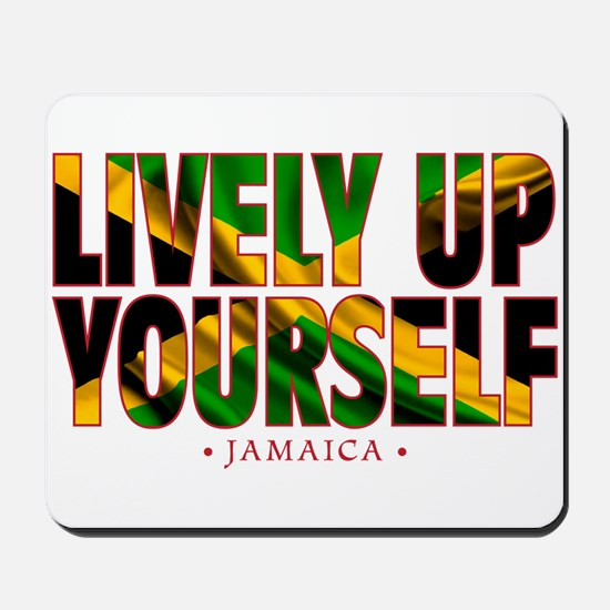 Lively Up Yourself - Mousepad