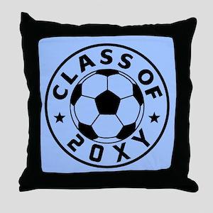 Class of 20?? Soccer Throw Pillow