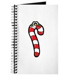 Happy Smiley Candy Cane Journal