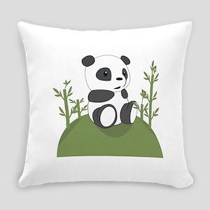 Panda Bear Cub Everyday Pillow
