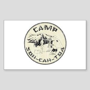 Camp Soh Cah Toa Rectangle Sticker
