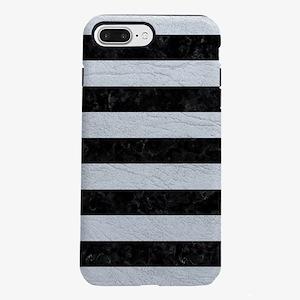 STRIPES2BLACK MARBLE & iPhone 8/7 Plus Tough Case