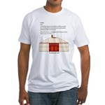 Yurt Definition Fitted T-Shirt