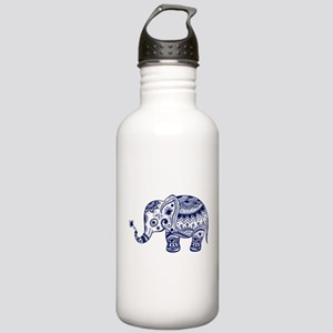 Cute Floral Elephant I Stainless Water Bottle 1.0L