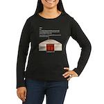 Yurt Definition Women's Long Sleeve Dark T-Shirt