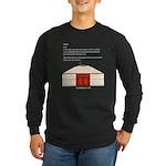 Yurt Definition Long Sleeve Dark T-Shirt