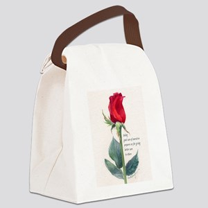 take care Canvas Lunch Bag