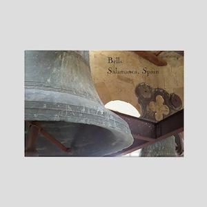 Bells In Medieval Church, Salamanca, Spain Magnets